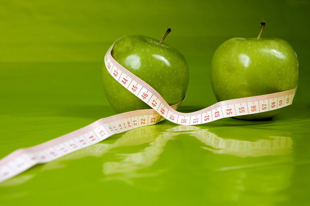 jablka a krejčovský metr